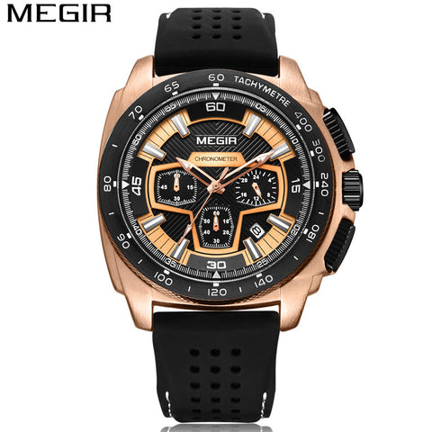Men's Casual Watch Military Chronograph Sport