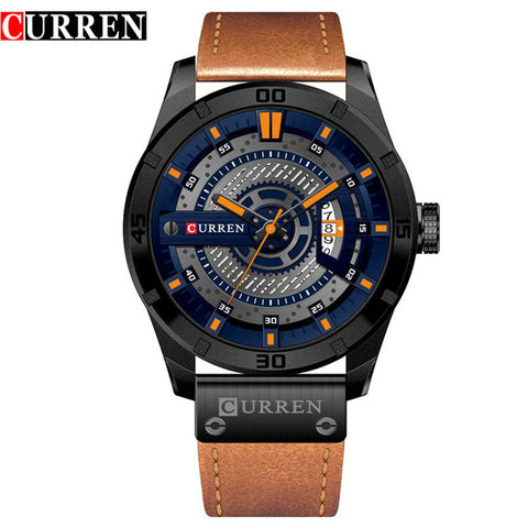 CURREN™ - Leather Watch