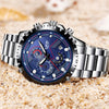 LIGE Sport Men Watch Men Quartz Wristwatch Waterproof