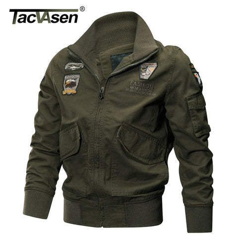 TACSEN -Military Jacket Men Cotton