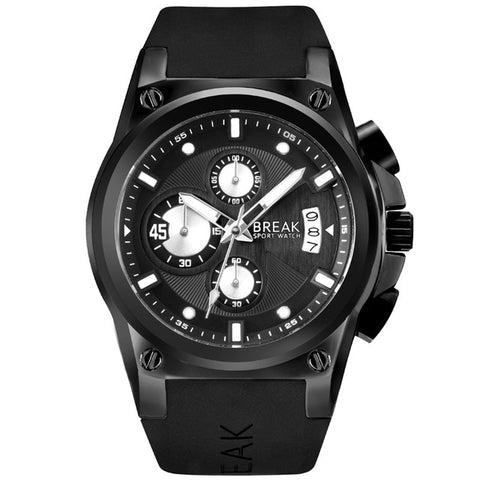 Tomar-18BRK Sports Chronograph Watch
