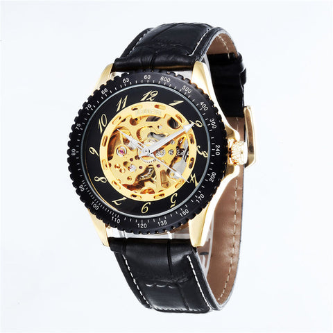 GOER  Automatic  Watches Men Wristwatch Relogio Masculino