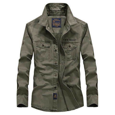Milary - pring men's high quality military casual