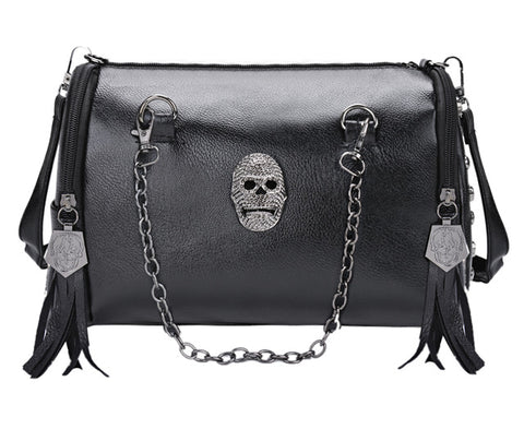 Coofit - Skull Deisgn Shoulder Bag Womens