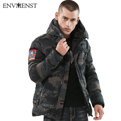 Camouflage Parka Winter Jacket
