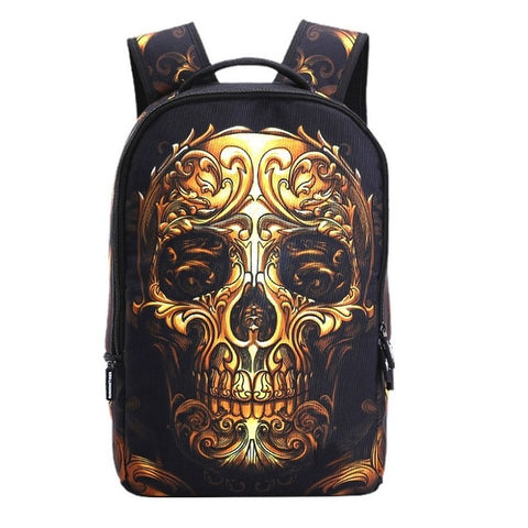 Skullback- 3D  Backpack