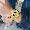 Aurora - Gold Tone Water-resistant Quartz Watches