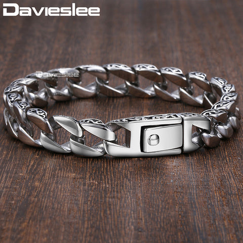 Aiden™ - 11mm Stainless Steel Bracelet