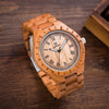 Wager -Wooden Analog Quartz Watches