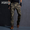 MISKI -  Military Cargo Tactical Pants Cotton Casual Camouflage