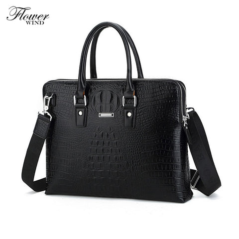 WIND Leather bag high quality for business men