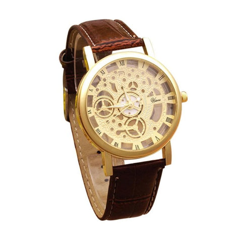 Popular Double Sided Non Mechanical Quartz Watch