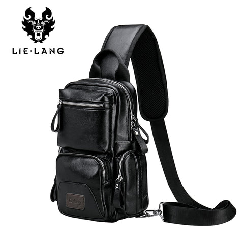 WoLang Leather Crossbody Bags for Men