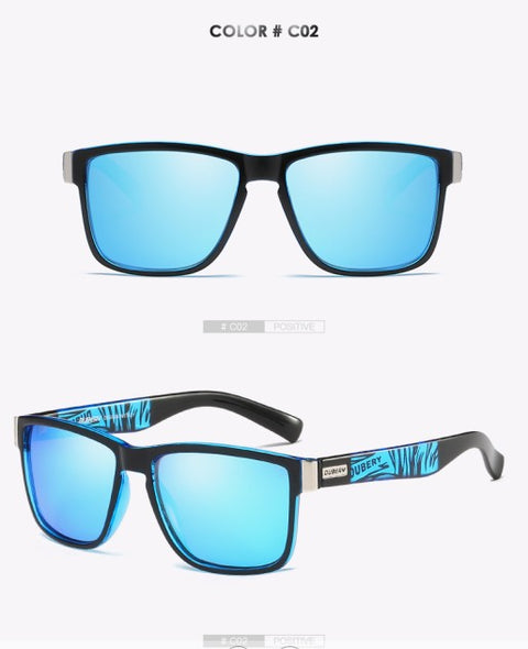 DUCARY Brand Design Polarized Sunglasses Men