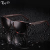 Polai- Sunglasses Men Vintage Retro