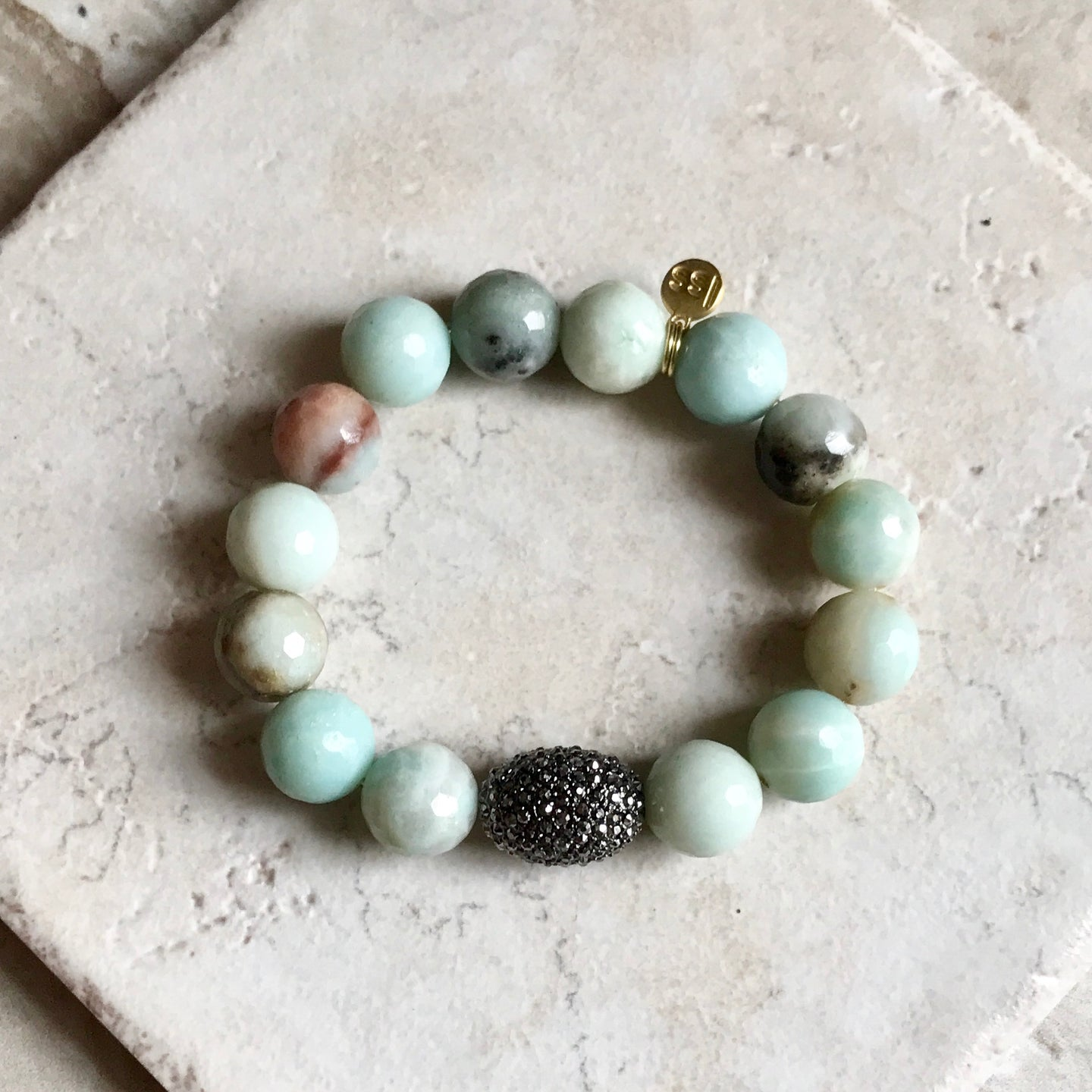 Faceted Amazonite