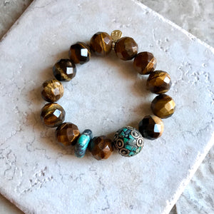 Faceted Tigers Eye