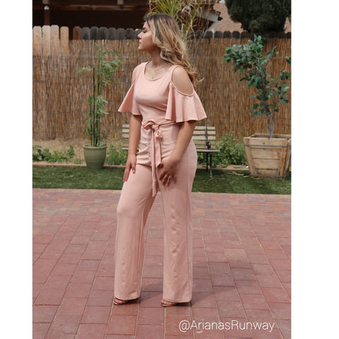 The Naked Rose Jumpsuit