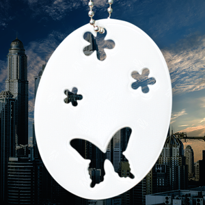 Soft Reflector Pendant - Lovely Butterfly - Dark Aid