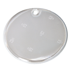 Soft Reflector Pendant - White Circle