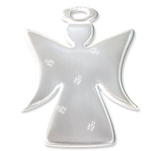 Soft Reflector Pendant - White Angel - Dark Aid