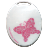 Soft Reflector Pendant - Pink Butterfly