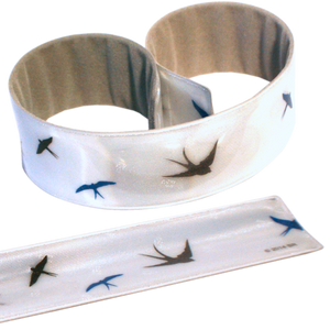 Reflective Slap Wrap - Swallows - Dark Aid