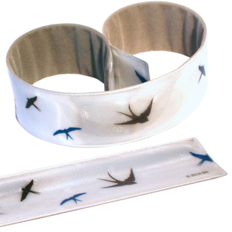 Reflective Slap Wrap - Swallows