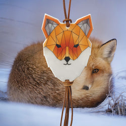 Reflective jewellery - Fox