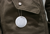 Soft Reflector Pendant - White Circle - Dark Aid