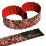 Reflective Slap Wrap - Pattern Belt Red - Dark Aid