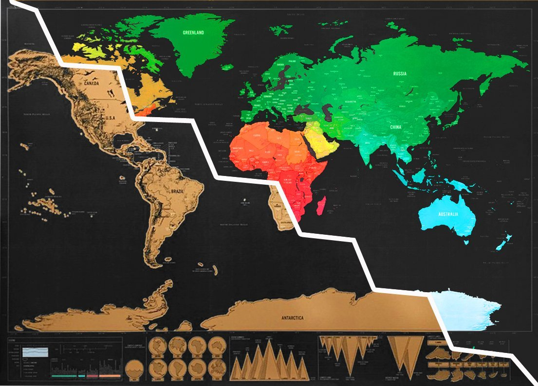 Scratch off world travel map cool colony sizes gumiabroncs Image collections