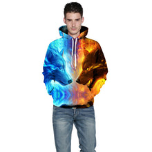 CoolGear™ Ice Fire Wolf Unisex Hoodie