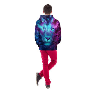 CoolGear™ Galaxy Lion Unisex Hoodie
