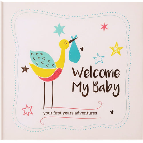 KiddyByte™ Baby Memory Book & Baby Journal