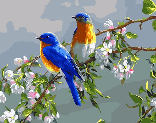 Bluebirds - PicArtSo™ Paint-by-Number Kit