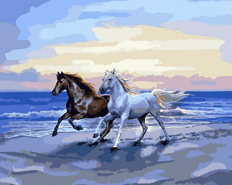Horses Running Free - PicArtSo™ Paint-by-Number Kit