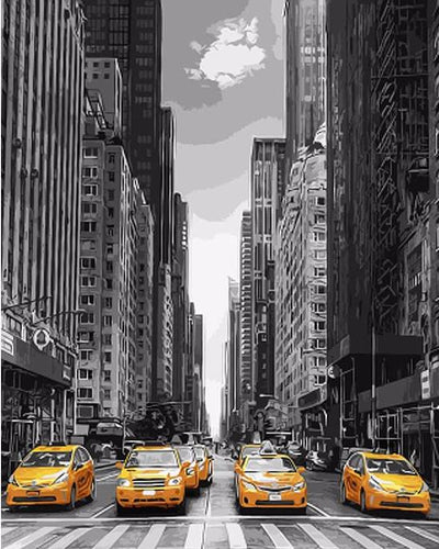 Modern New York - PicArtSo™ Paint-by-Number Kit