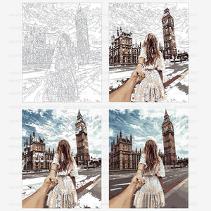 Take Me To London - PicArtSo™ Paint-by-Number Kit