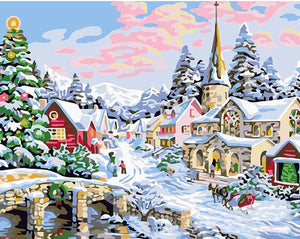 Christmas Wonderland - PicArtSo™ Paint-by-Number Kit