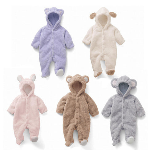 Super Cute & Warm Bear Romper - Autumn Winter Edition