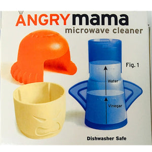 Microwave Oven Steam Cleaner