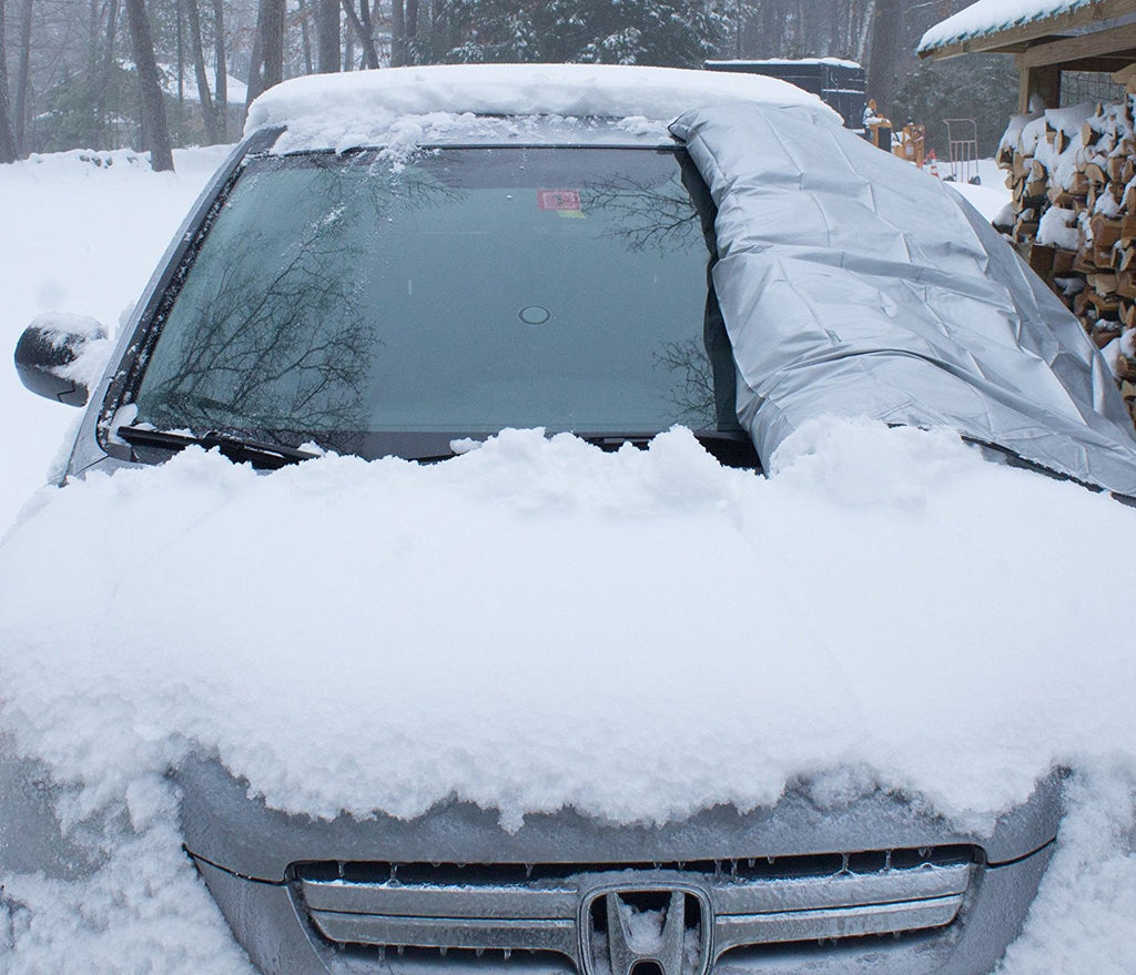 Keep snow and ice off your windshield with the Classic Accessories Winter Windshield Cover. With its one-size-fits-all design, the winter car windshield cover fits most cars, trucks, vans and SUVs. And, it boasts an anti-theft design/5(K).