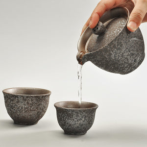 Japanese Portable Teapot With 2 Cups
