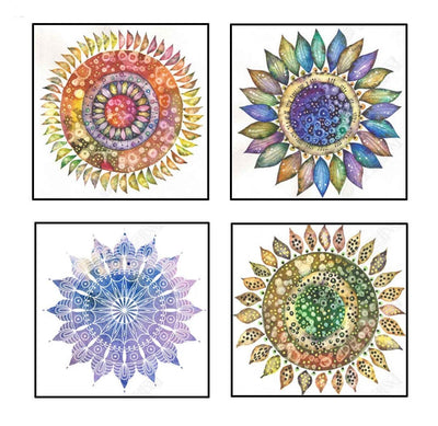 5d Diamond Painting round drill pen Set of 4
