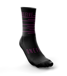 Calcetines ciclismo Stairways Black-pink