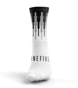 Calcetines ciclismo Scale White