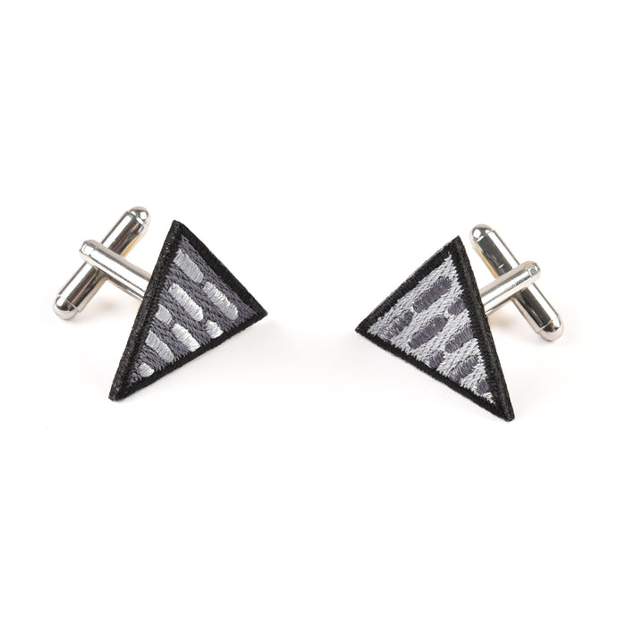 Triangle Grey Cufflinks
