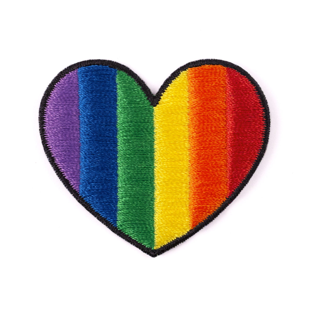 Rainbow Heartbeat Patch
