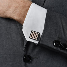 Square & Triangle Brown Cufflinks